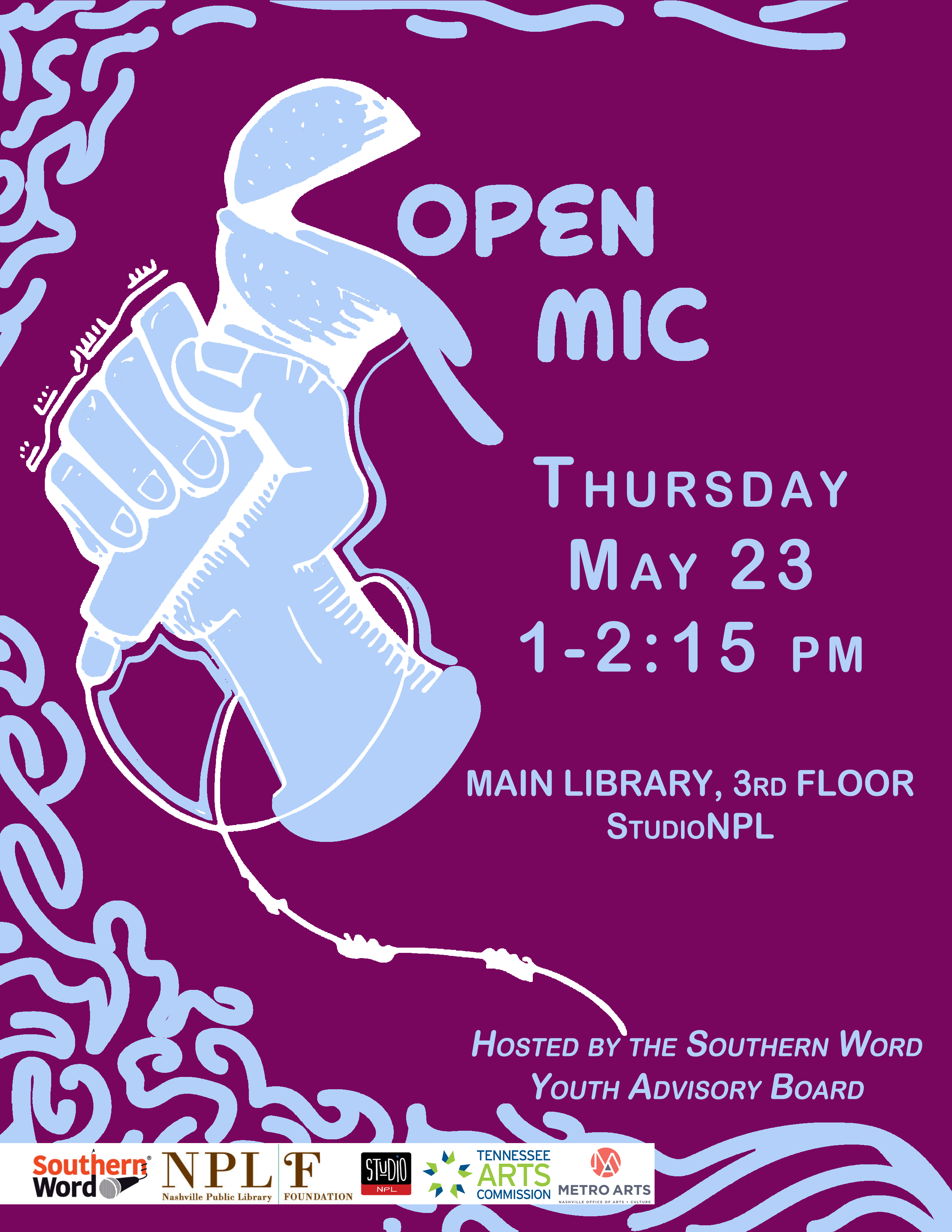 2019 05 23 Library Open Mic - Southern Word